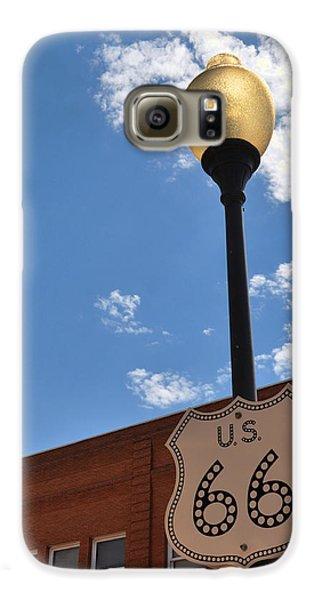 Route 66 Light Post Vivid Galaxy S6 Case