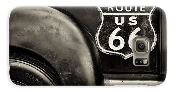 Route 66 Galaxy S6 Case by Tim Gainey