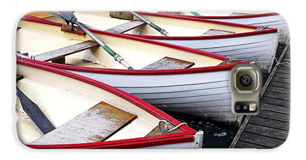 Rowboats Galaxy S6 Case by Elena Elisseeva