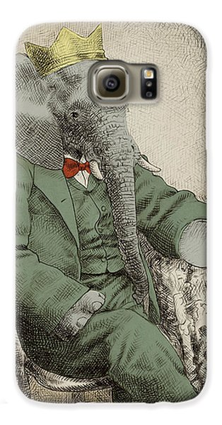 Animals Galaxy S6 Case - Royal Portrait by Eric Fan