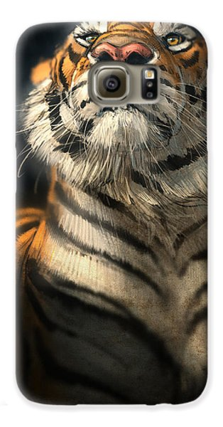 Tiger Galaxy S6 Case - Royalty by Aaron Blaise