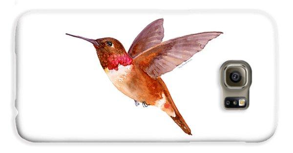 Rufous Hummingbird Galaxy S6 Case