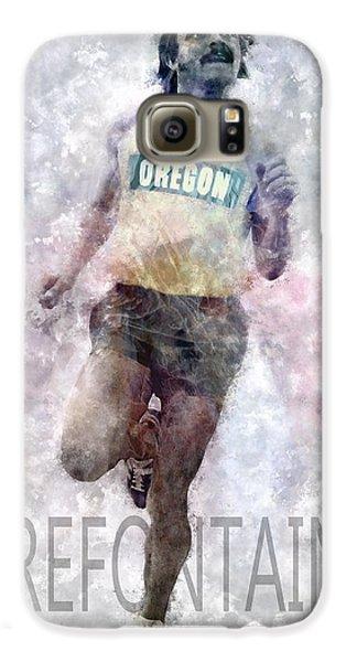 Running Legend Steve Prefontaine Galaxy S6 Case