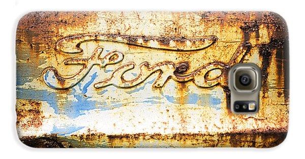 Rusty Old Ford Closeup Galaxy S6 Case by Edward Fielding