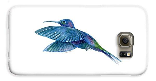 Sabrewing Hummingbird Galaxy S6 Case by Amy Kirkpatrick