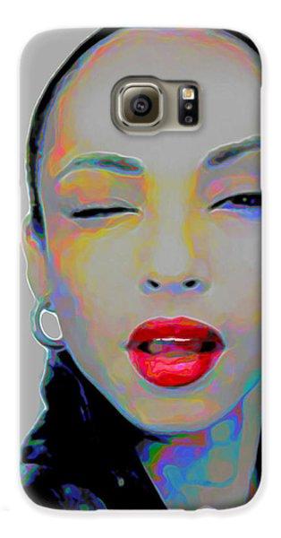 Rhythm And Blues Galaxy S6 Case - Sade 3 by Fli Art