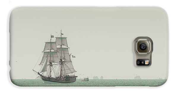 Sail Ship 1 Galaxy S6 Case by Lucid Mood