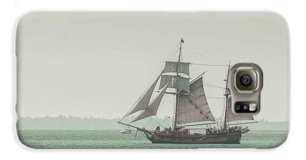 Boat Galaxy S6 Case - Sail Ship 2 by Lucid Mood