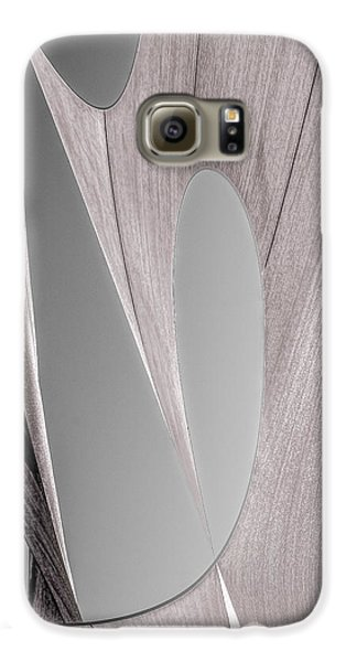 Sailcloth Abstract Number 2 Galaxy S6 Case by Bob Orsillo