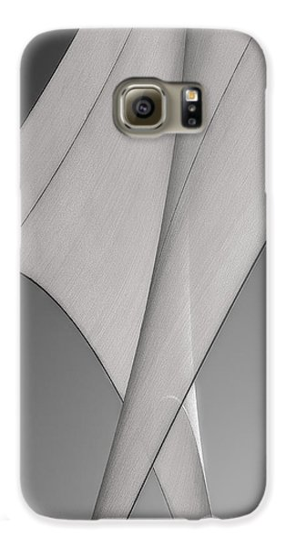 Sailcloth Abstract Number 3 Galaxy S6 Case by Bob Orsillo