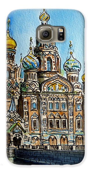 Saint Petersburg Russia The Church Of Our Savior On The Spilled Blood Galaxy S6 Case