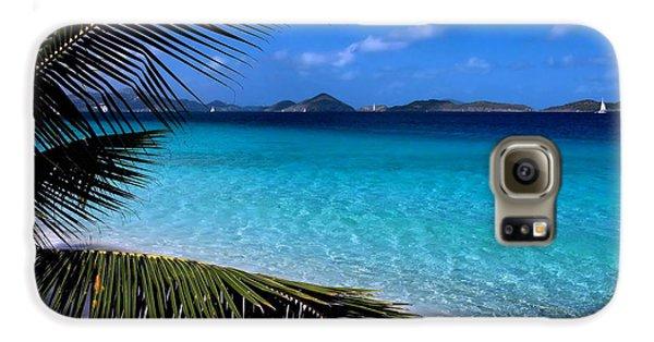 Inspirational Galaxy S6 Case - Saloman Beach - St. John by Stephen  Vecchiotti