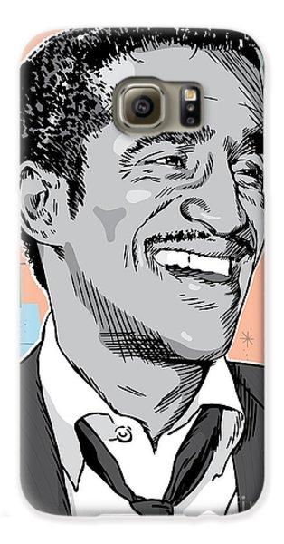 Sammy Davis Jr Pop Art Galaxy S6 Case by Jim Zahniser