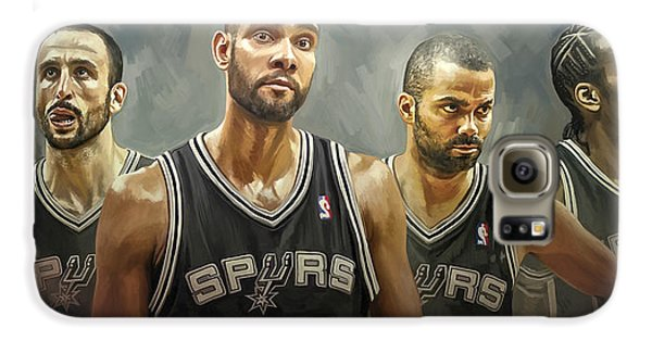 San Antonio Spurs Artwork Galaxy S6 Case