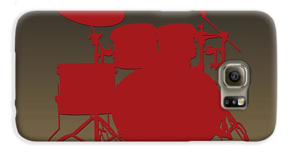 San Francisco 49ers Drum Set Galaxy S6 Case by Joe Hamilton