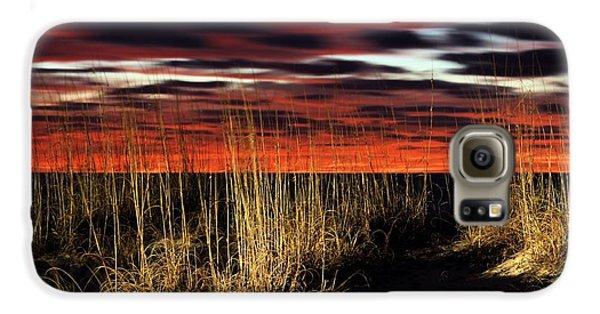 Sand Dune Sunrise Galaxy S6 Case by JC Findley