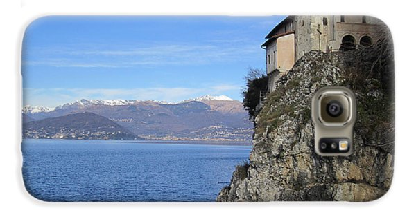 Galaxy S6 Case featuring the photograph Santa Caterina - Lago Maggiore by Travel Pics