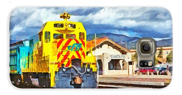 Santa Fe Southern Railway Train Galaxy S6 Case