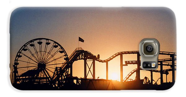 Santa Monica Pier Galaxy S6 Case by Art Block Collections