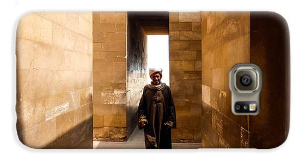 Galaxy S6 Case featuring the photograph Saqqara Temple by Anthony Baatz
