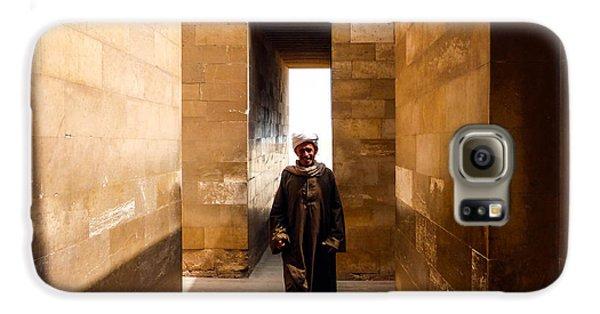Saqqara Temple Galaxy S6 Case