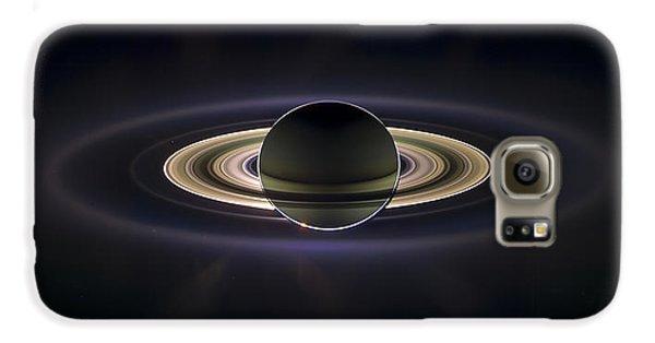 Saturn Galaxy S6 Case by Adam Romanowicz