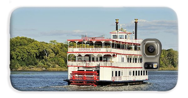 Savannah River Steamboat Galaxy S6 Case
