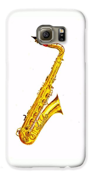 Saxophone Galaxy S6 Case by Michael Vigliotti