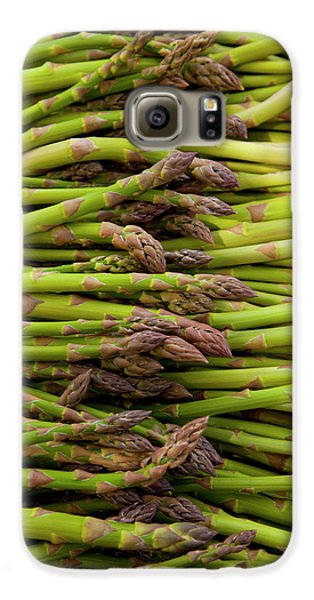Scotts Asparagus Farm, Marlborough Galaxy S6 Case by Douglas Peebles