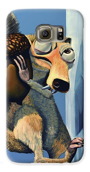 Scrat Of Ice Age Galaxy S6 Case