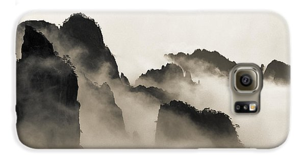Mountain Galaxy S6 Case - Sea Of Clouds by King Wu