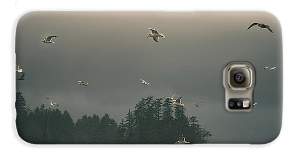 Seagulls In A Storm Galaxy S6 Case