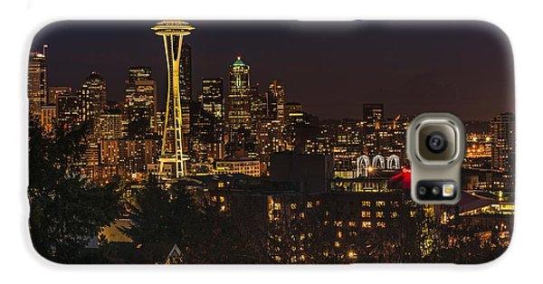 Seattle Night Lights Galaxy S6 Case