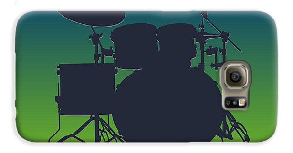 Seattle Seahawks Drum Set Galaxy S6 Case by Joe Hamilton