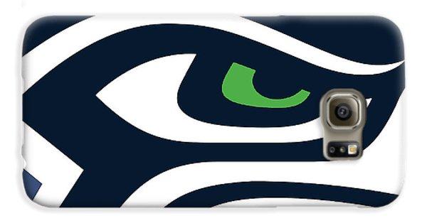 Seattle Galaxy S6 Case - Seattle Seahawks by Tony Rubino
