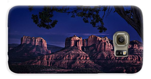 Sedona Cathedral Rock Post Sunset Glow Galaxy S6 Case