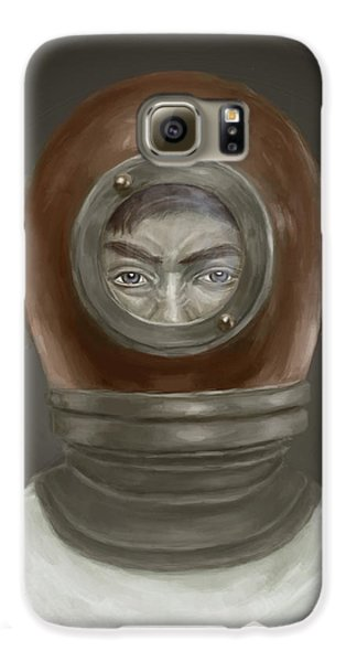 Galaxy S6 Case - Self Portrait by Balazs Solti
