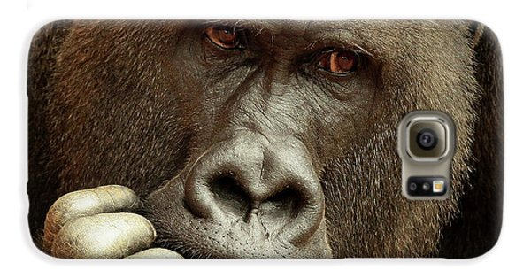 Gorilla Galaxy S6 Case - Sense Of Life ... by Antje Wenner-braun