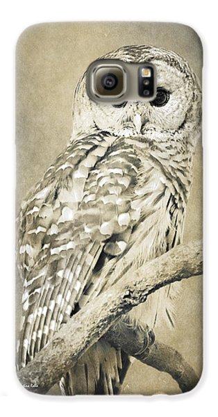 Sepia Owl Galaxy S6 Case