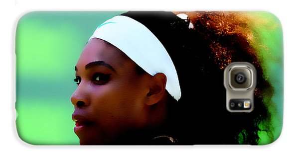 Venus Williams Galaxy S6 Case - Serena Williams Match Point by Brian Reaves