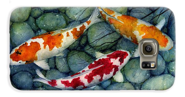 Serenity Koi Galaxy S6 Case by Hailey E Herrera