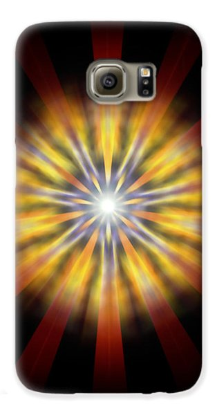 Seven Sistars Of Light Galaxy S6 Case by Derek Gedney