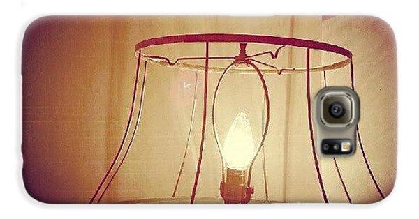 Light Galaxy S6 Case - Shadeless Lamp  by Jill Tuinier