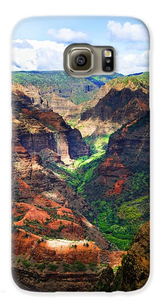 Shadows Of Waimea Canyon Galaxy S6 Case