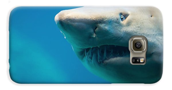 Bull Galaxy S6 Case - Shark by Johan Swanepoel