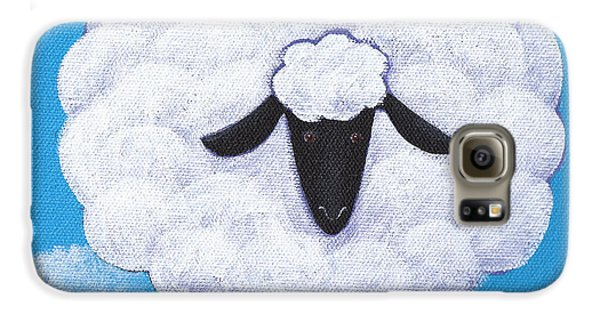 Sheep Galaxy S6 Case - Sheep Nursery Art by Christy Beckwith