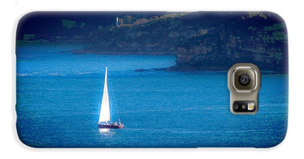 Galaxy S6 Case featuring the photograph Shimmer Of The White Sail by Miroslava Jurcik