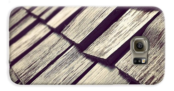 Architecture Galaxy S6 Case - Shingles by Christy Beckwith