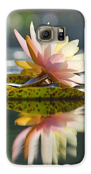 Shining Water Lily Galaxy S6 Case