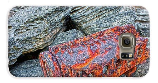 Galaxy S6 Case featuring the photograph Shipwrecked ? by Miroslava Jurcik